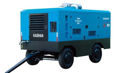 Cina Diesel Industri Portable Air Compressor / Rock Drill Compressor Kaishan Lcgy Distributor
