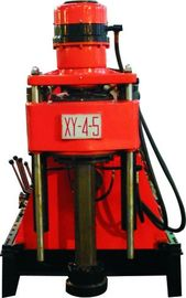 Cina XY-4-5 Spindle Rotatory Engineering Drilling Rig / Micro Piling Machine Distributor