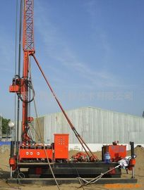 Cina Pengeboran Crawler Skid Mounted Rig Pengeboran Jet Grouting Skid Mounted Untuk Geological Drill XP - 30B Distributor