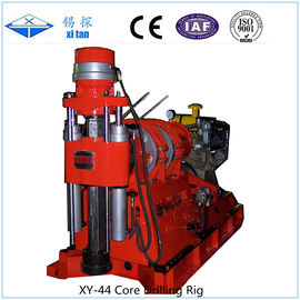 Cina Long Stroke 600mm Core Drilling Rig Pengeboran Kuat XY - 44 Distributor