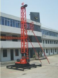Cina XY-4T Core Drilling Rig dengan Tower all-in-one Distributor