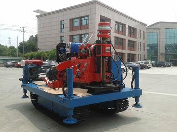 Cina GXY-2KL Spindle Rotary Crawler Drilling Rig Max Torsi 2760 Nm, Mobile Drilling Rig pabrik